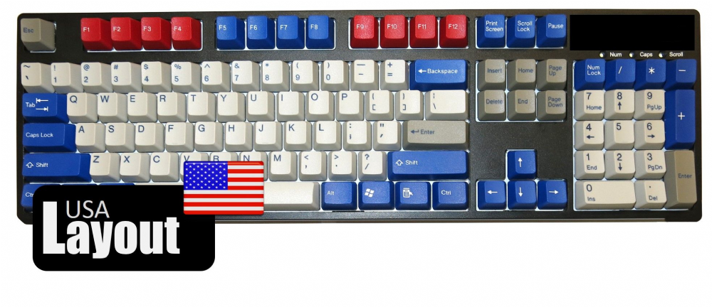 Tai-Hao ABS Double Shot Keycaps Optimus Prime USA